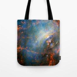 Beating Heart of the Crab Nebula Tote Bag