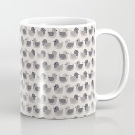 Cute Simple Pigeons Coffee Mug