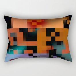 gettin' closer Rectangular Pillow