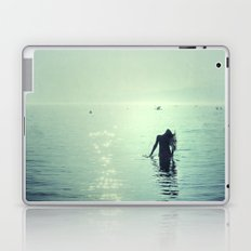 Happy summer vintage. Playing with the water Laptop & iPad Skin