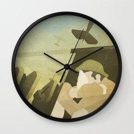 Great War Wall Clock