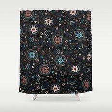 Spirits of the Stars Shower Curtain