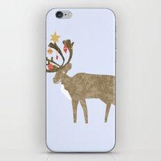 Holiday Reindeer iPhone & iPod Skin