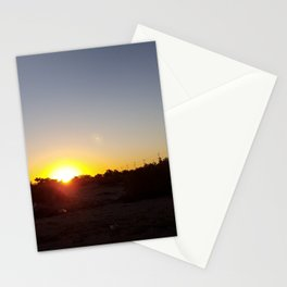 California Desert Sunrise Stationery Cards
