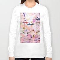 polka Long Sleeve T-shirts featuring Polka by SaniQ