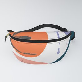 abstract dripping Fanny Pack