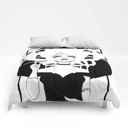 Ivory Comforters