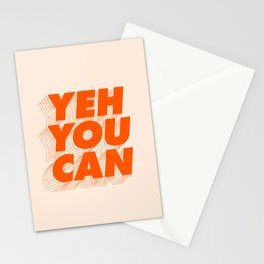 Yeh You Can Stationery Cards