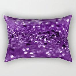 Purple Lady Glitter #1 #shiny #decor #art #society6 Rectangular Pillow