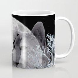 Winter Snow Wolf A830 Coffee Mug