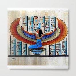 Goddess Isis Metal Print