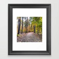 A Fall Day Framed Art Print