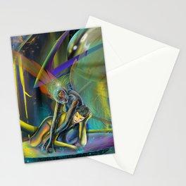 Avatars (Closeup) Stationery Cards