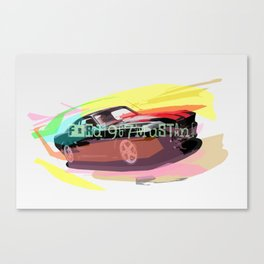 Ford Mustang Car Canvas Print