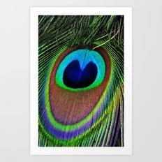 Iridescent Eye Art Print