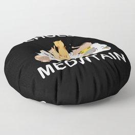 Behold A Meowtain shirt Floor Pillow