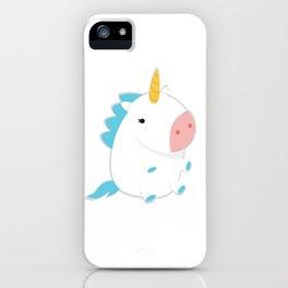 Super Fluffy Unicorn iPhone Case
