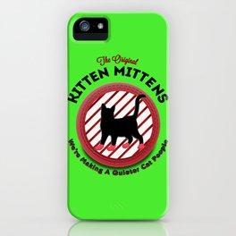 The Original Kitten Mittens iPhone Case