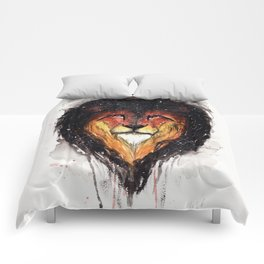 Fire Lion. Comforters