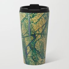 stone gold Metal Travel Mug