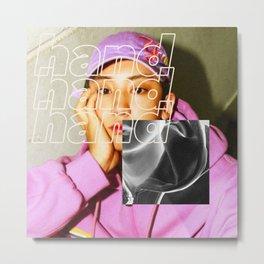 Artwork K-Pop EXO Chanyeol Metal Print