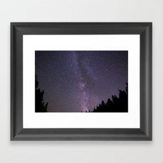 Celestial Night Sky  Framed Art Print