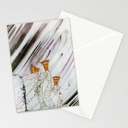 Kay Nielsen - Three Princesses Amazed By Snowstorm Stationery Cards