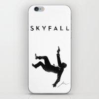 skyfall iPhone & iPod Skins featuring Skyfall by Arian Noveir