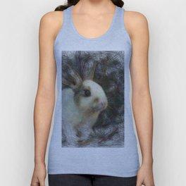 Artistic Animal Bunny 2 Unisex Tank Top