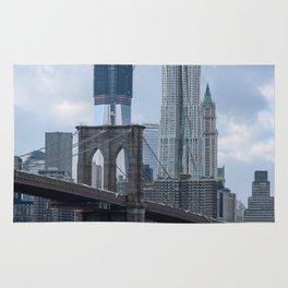 Freedom Tower Brooklyn Bridge 2012 Rug