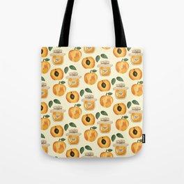 Apricot Jam Tote Bag