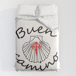buen camino Comforters