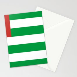 Abkhazia Flag Stationery Cards