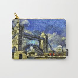 Tower Bridge and the Waverley Art Carry-All Pouch