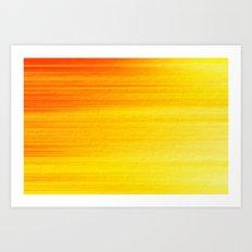 SUMMER SONNET Art Print