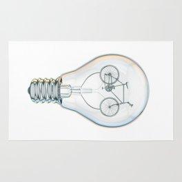 Light Bicycle Bulb Rug