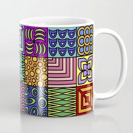 Colorburst Squares Coffee Mug