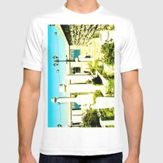 A very sacred place. White MEDIUM Mens Fitted Tee
