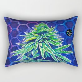 Purple Kush Rectangular Pillow
