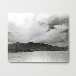 Obsidian Mountains Metal Print