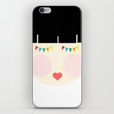 Hey there, Doll Face! iPhone & iPod Skin