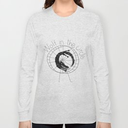 wolf in the circle 2 Long Sleeve T-shirt