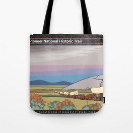 Vintage Poster - Mormon Pioneer National Historic Trail (2018) Tote Bag