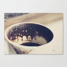 Turkish coffee Canvas Print