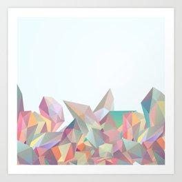 Crystallized II Art Print