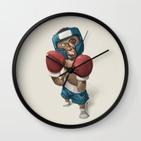 ali Wall Clocks featuring Ali by clogtwo