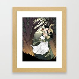 Loki and Cleo Framed Art Print