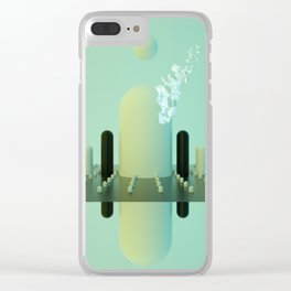 MARIO MOUNTAINS Clear iPhone Case