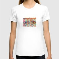 takmaj T-shirts featuring Evening in Poznań by takmaj