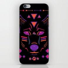 Eighties Wolf iPhone & iPod Skin